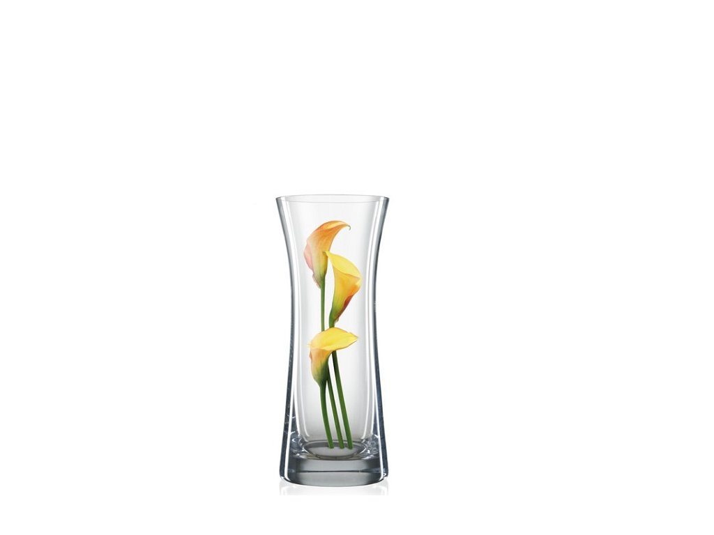 skleněná váza Bohemia Crystal 230 mm