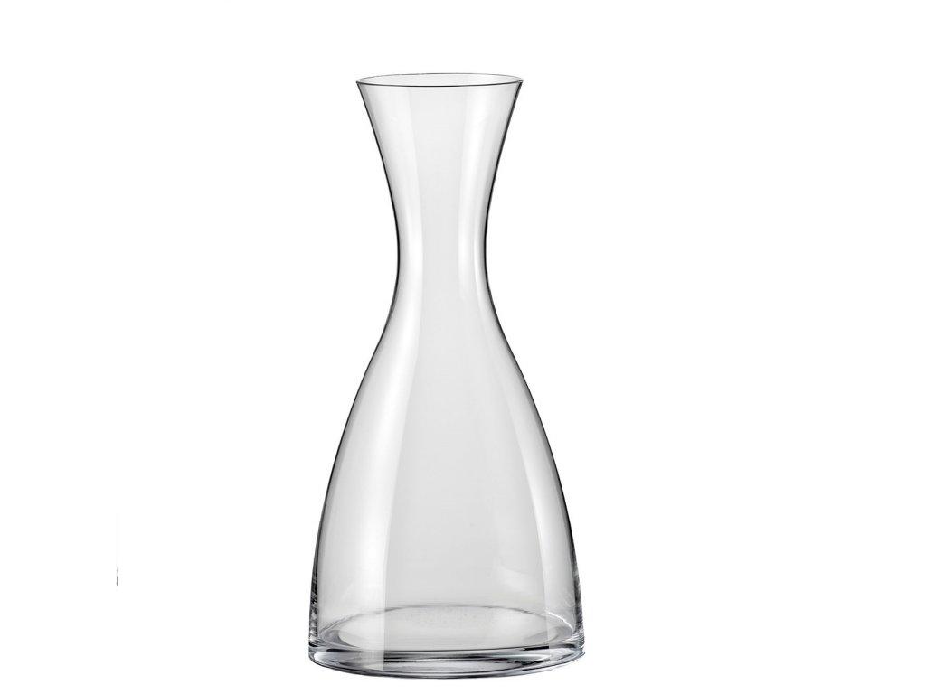 Karafa na vodu a víno Crystalex