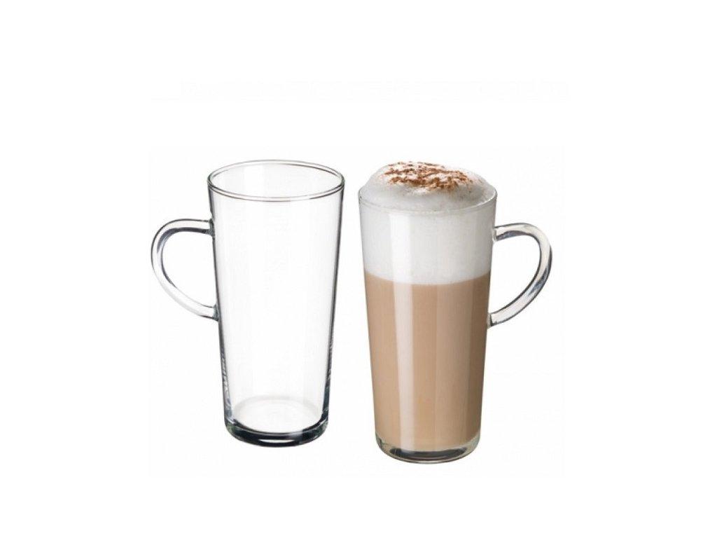 VÝPRODEJ Simax Skleněný hrnek na latté Karina 350 ml, 1 ks