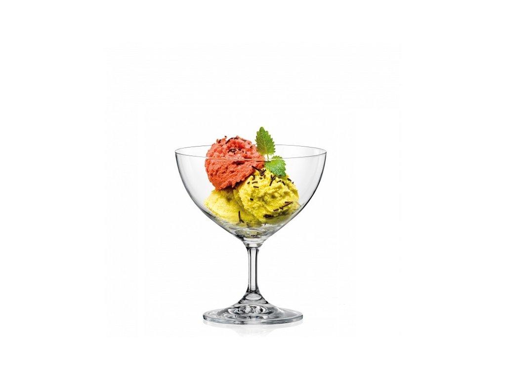 crystalex sklenice na zmrzlinový pohár Skleněný shop cz
