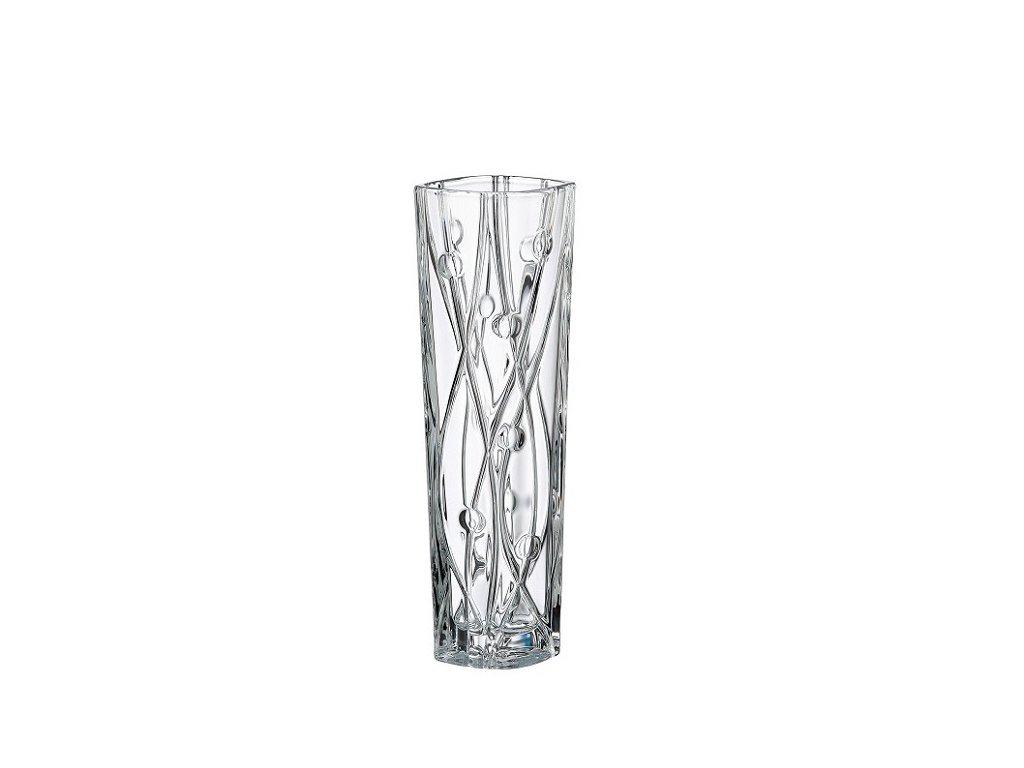 Crystalite Bohemia váza LABYRINTH 305 mm