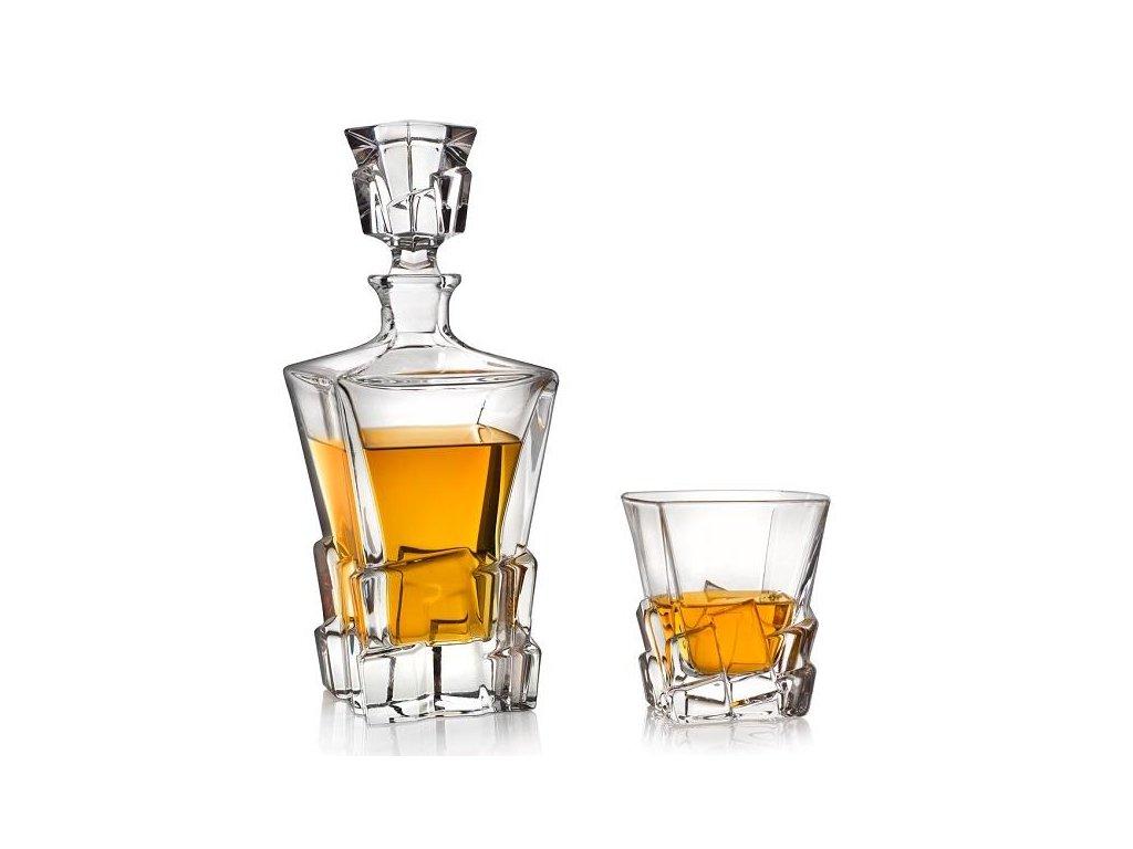 Bohemia Jihlava Crack whisky set