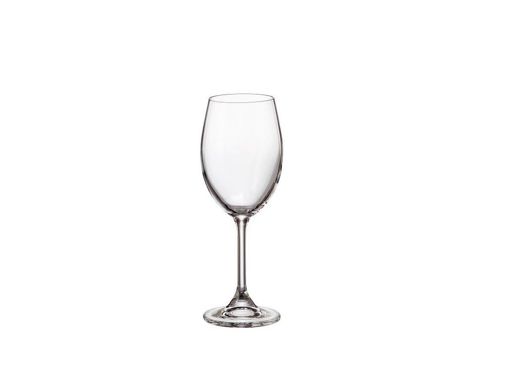 crystalite bohemia sklenice na sekt sylvia 250 ml