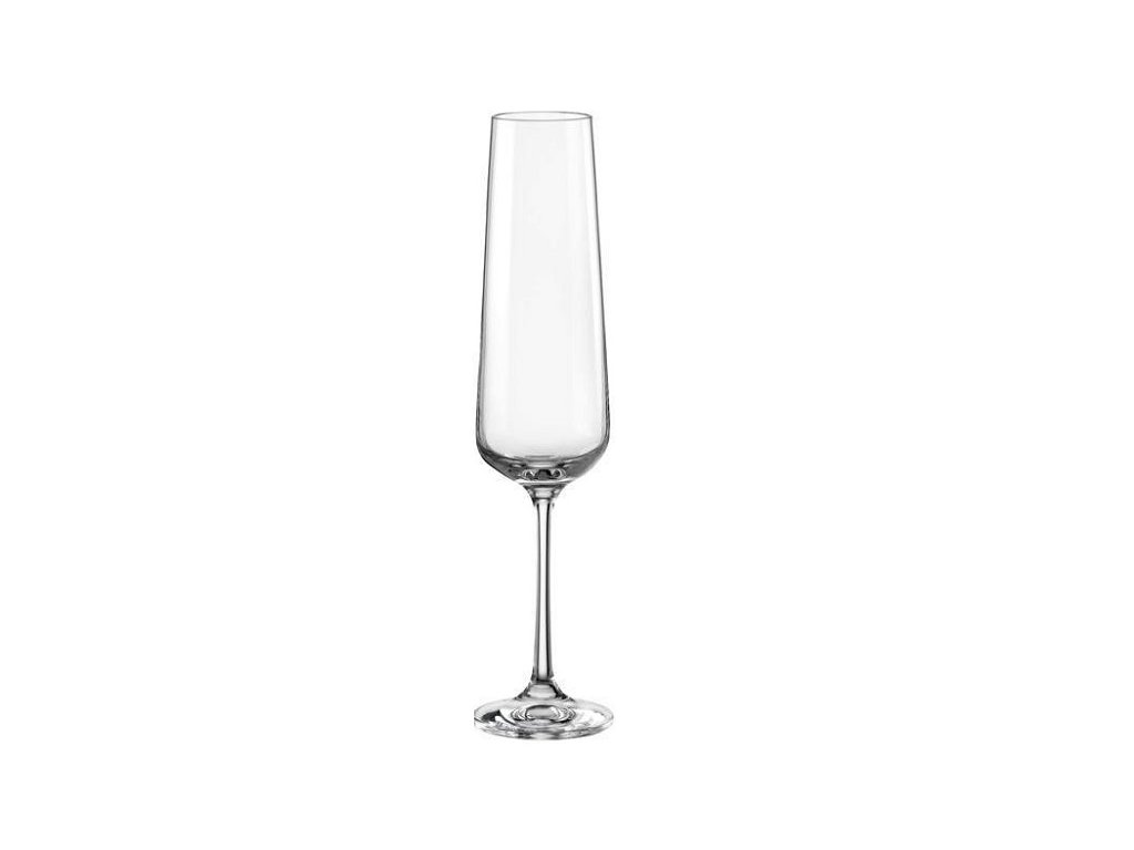 crystalex sklenice na sekt Sandra 200 ml