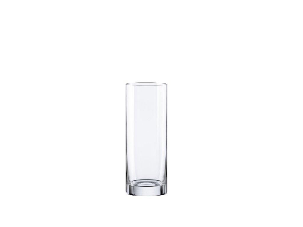 Rona skleněná váza válec 255 mm
