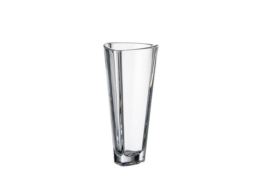Crystalite Bohemia skleněná váza Triangle 305 mm