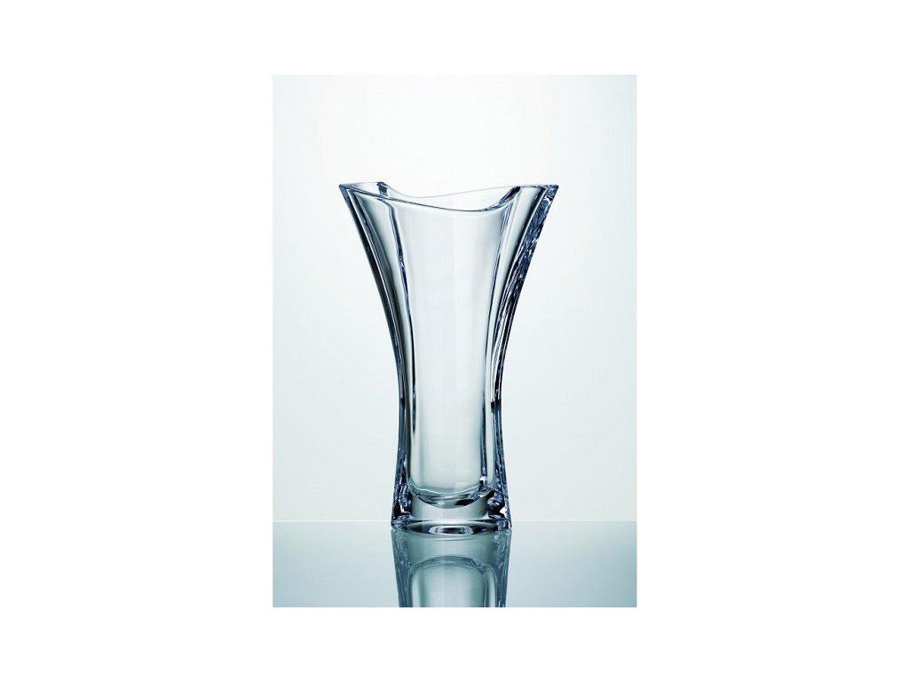 Crystalite Bohemia Skleněná váza SMILE 255 mm