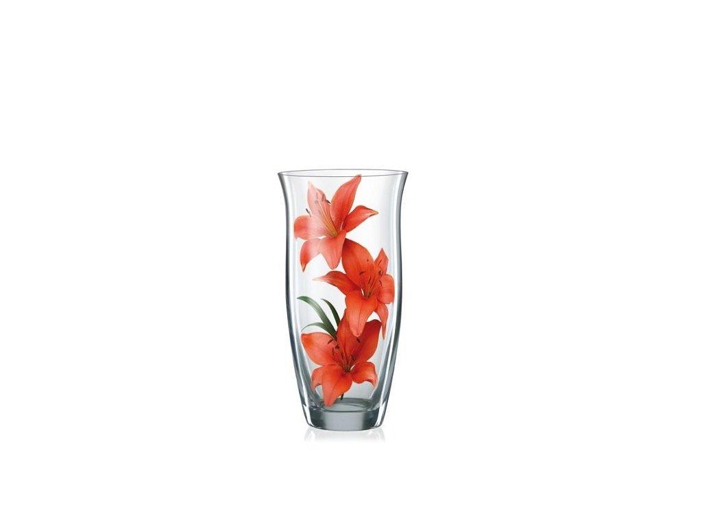 Crystalex Skleněná váza 230 mm