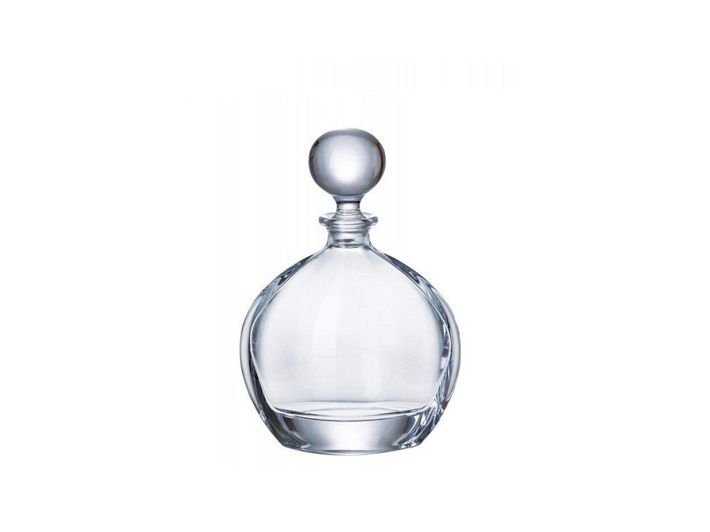 Crystalite Bohemia Skleněná karafa na whisky Orbit 0,8 l