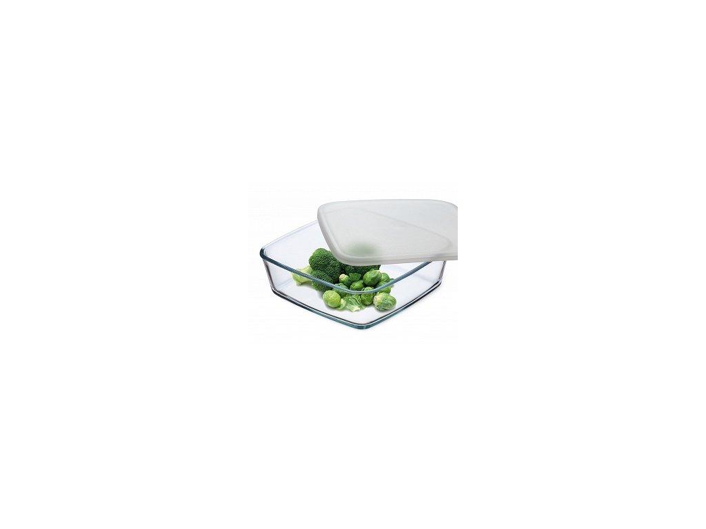 Simax Hranatý zásobník na potraviny 0,5 l