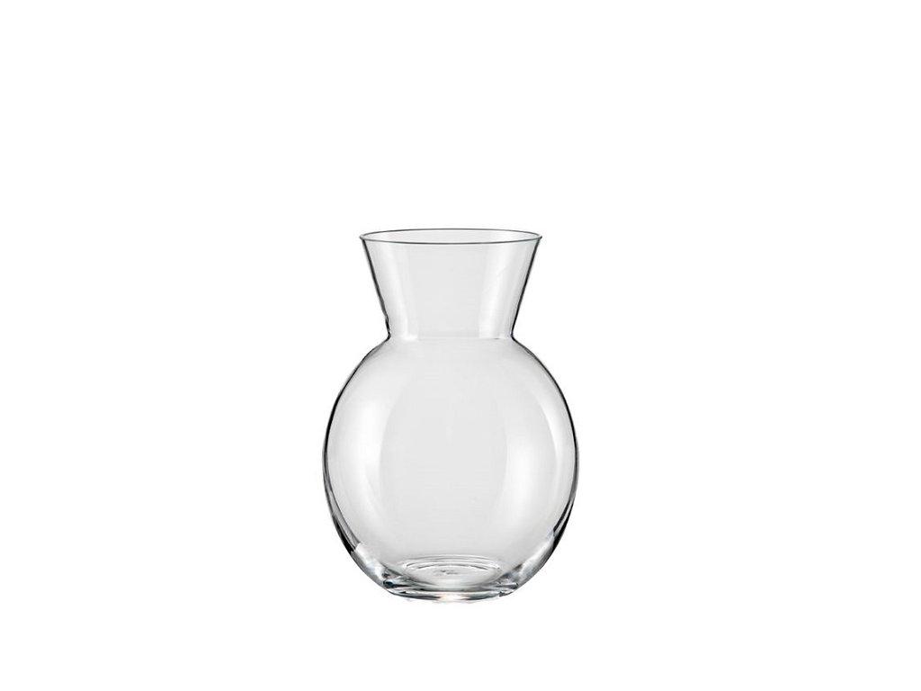 Crystalex skleněná váza s límcem 220 mm