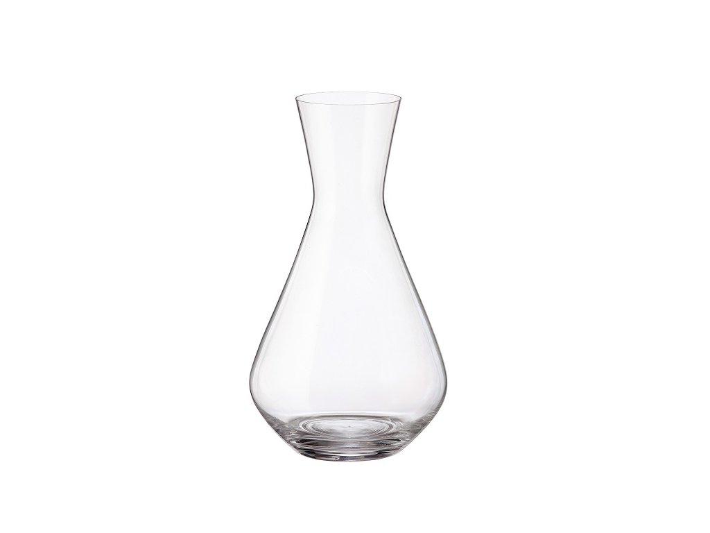 karafa na víno fringilla crystalite bohemia