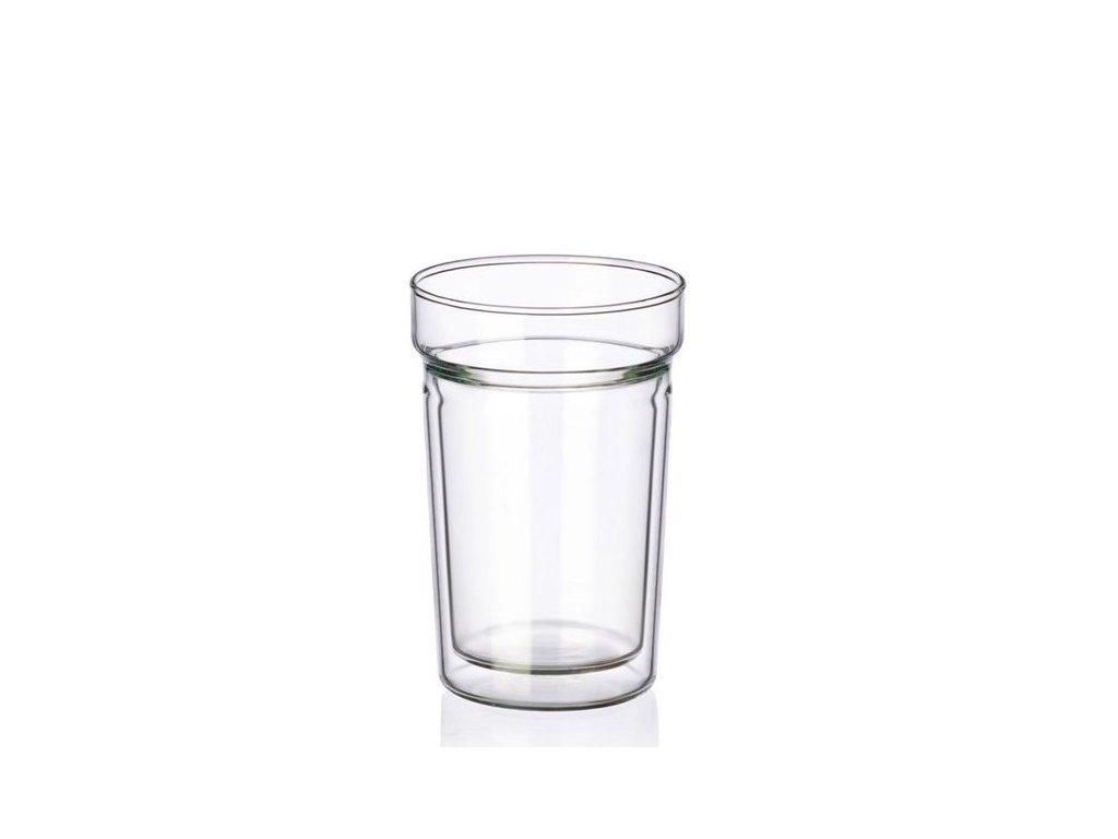 Simax Sklenice z dvoustěnného skla DUAL 300 ml, 1 ks
