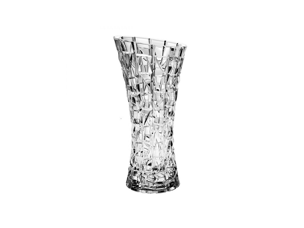 Crystal Bohemia skleněná váza PATRIOT 330 mm