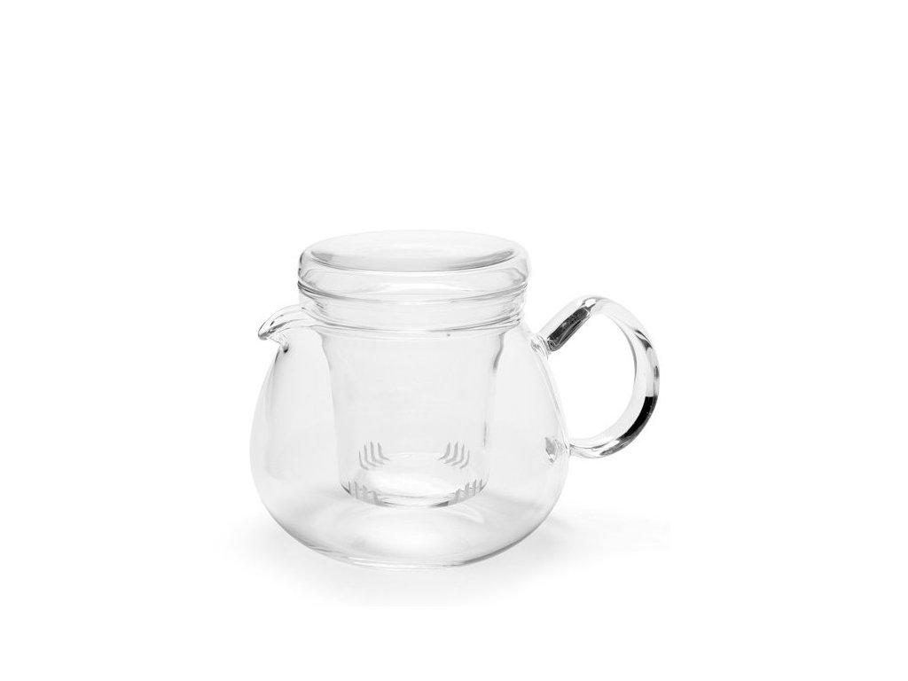 Trendglas Jena Skleněná konvička PRETTY TEA se skleněným filtrem 0,5 l