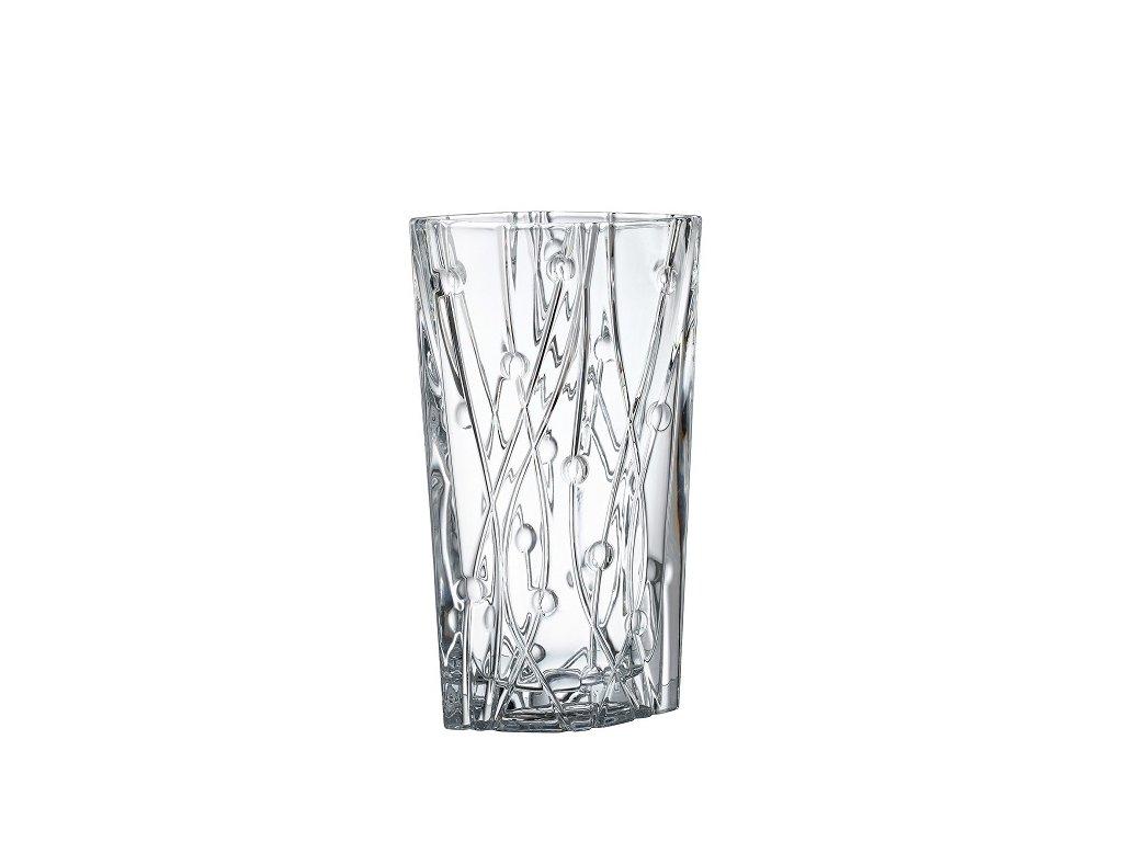 skleněná váza Labyrinth 305 mm II crystalite bohemia