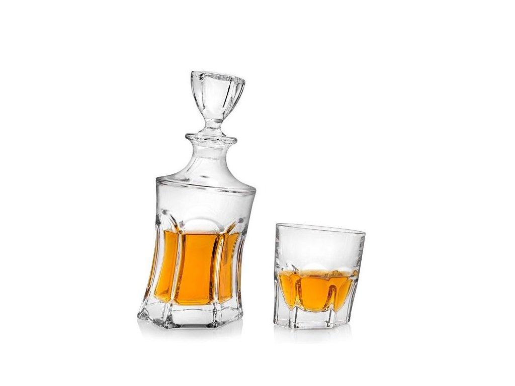 Crystalite Bohemia Acapulco whisky set