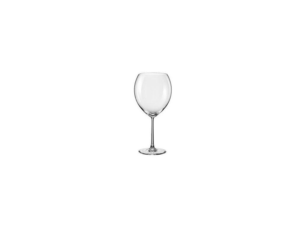 VYŘAZENO Rona Sklenice na víno ORION, ručně foukané křišťálové sklo 470 ml, 1 ks