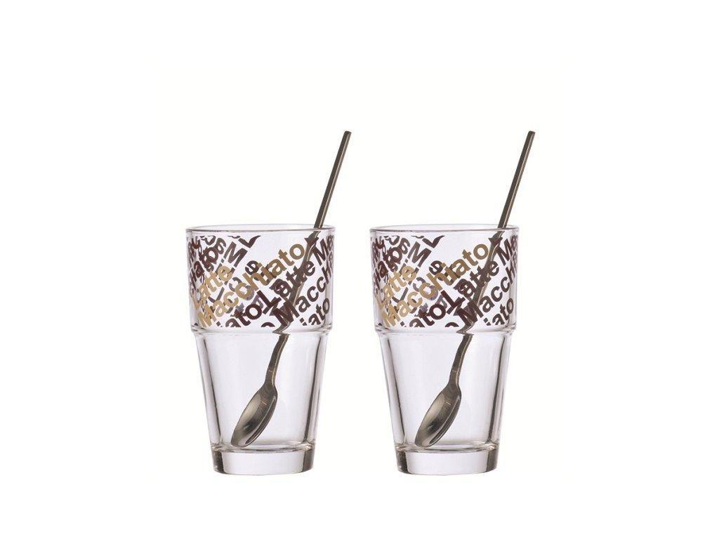 leonardo sklenice na latté solo 042553