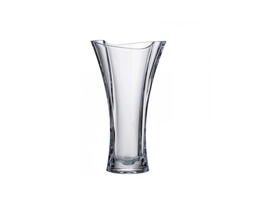Crystalite Bohemia Skleněná váza SMILE 305 mm