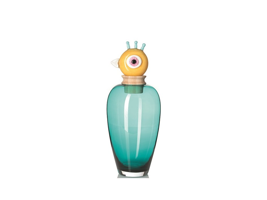 Leonardo skleněná váza Papageno Peppe 45 cm 095302