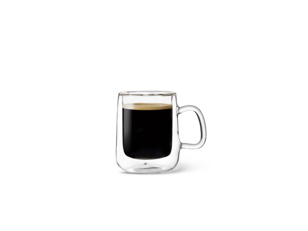 Luigi Bormioli dvoustěnný hrneček na kávu COLOMBIA 100 ml