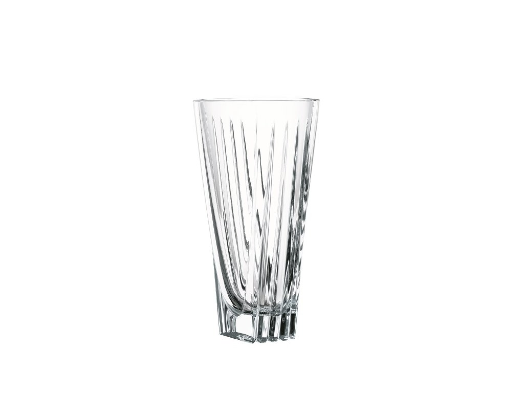 nachtmann skleněná váza art deco 28 cm 81396