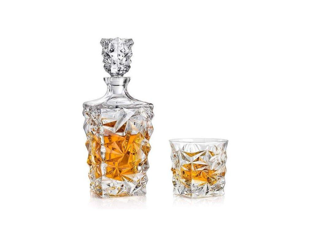 Bohemia Jihlava Glacier whisky set