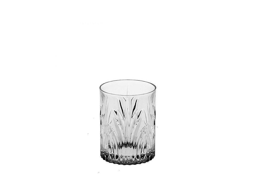 crystal bohemia sklenice na whisky elise 320 ml