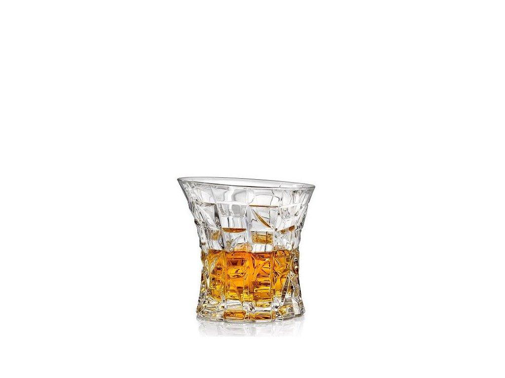 Crystal Bohemia Whisky sklenice Patriot