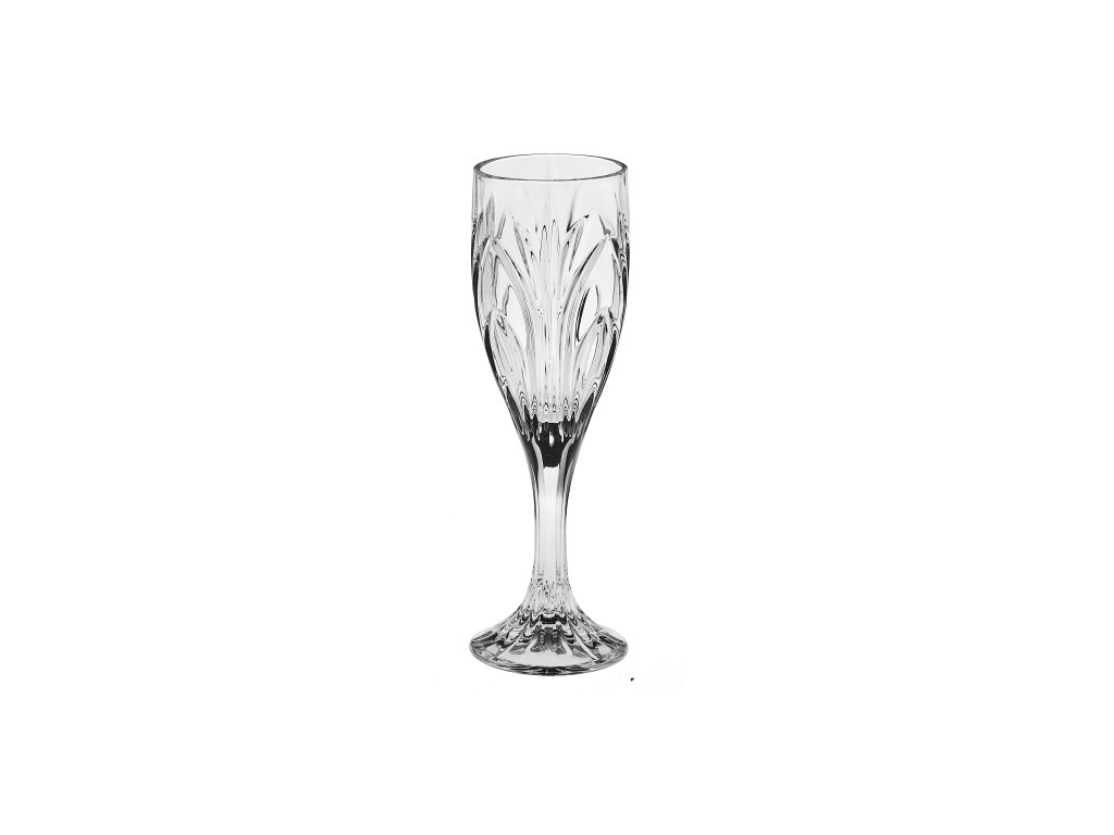 Crystal Bohemia Sklenice na sekt ELISE 180 ml