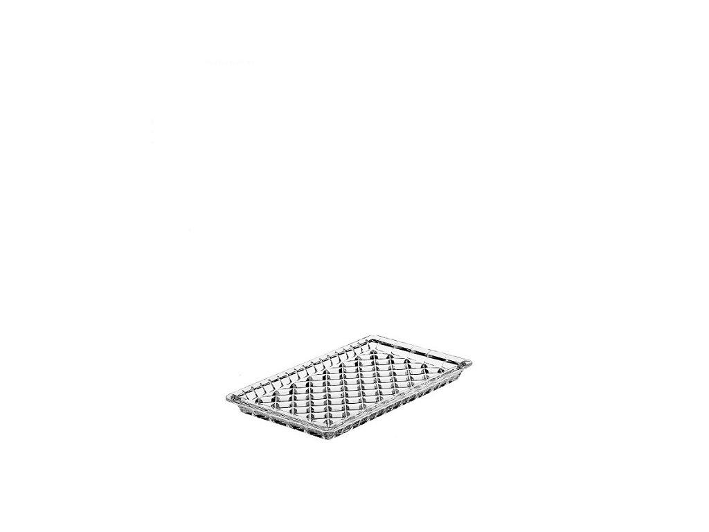 crystal bohemia skleněný tác Diamond 190 ml