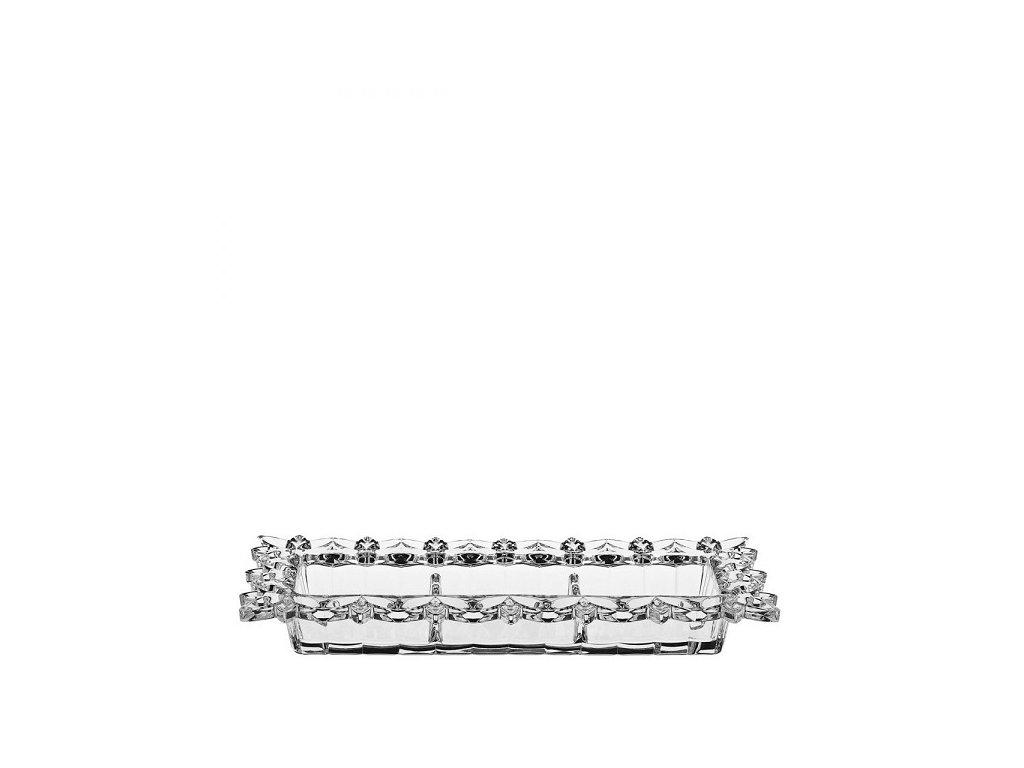 Crystal Bohemia mísa Pierced 365 mm Skleněný shop cz