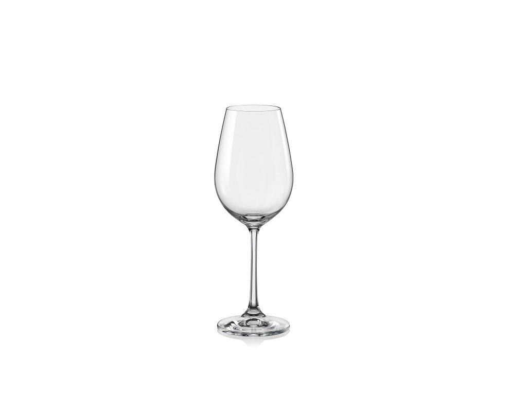 crystalex bohemia sklenice na víno viola 250 ml