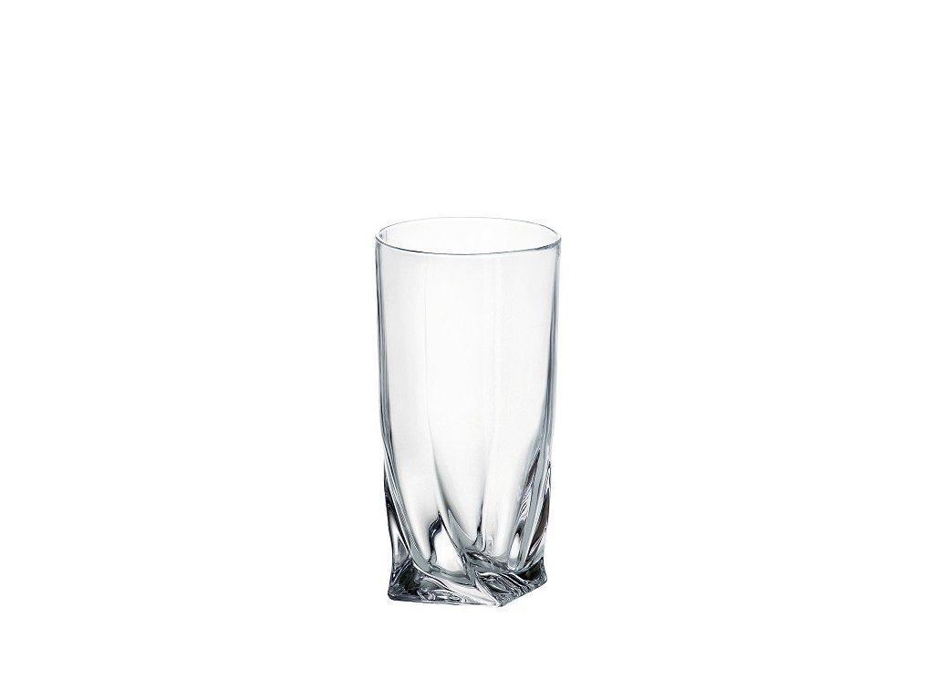 Crystalite Bohemia sklenice quadro 350 ml