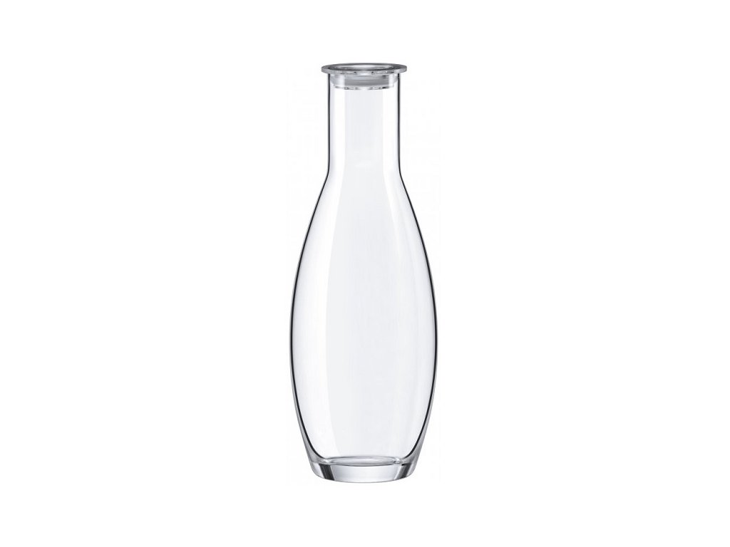 Rona Skleněná karafa na vodu s akrylátovou zátkou FJORD 1,3 l
