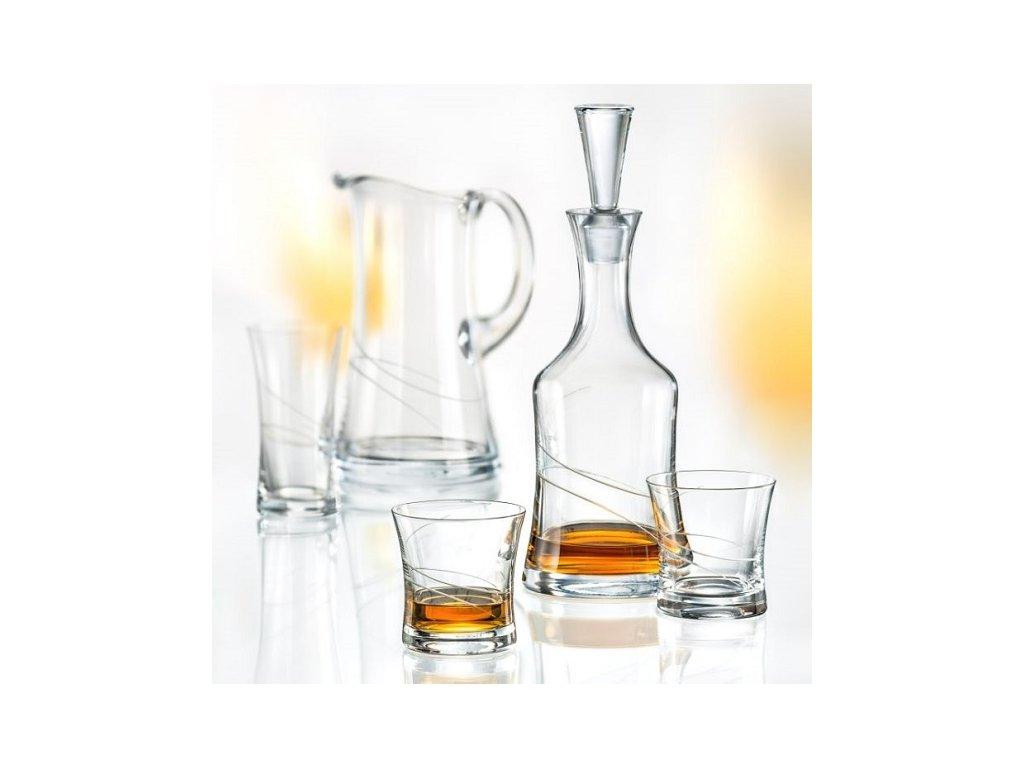 Elisabeth Whisky set Crystalex