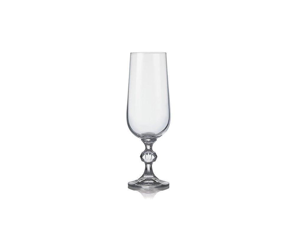 Crystalex Sklenice na šumivé víno CLAUDIA 180 ml