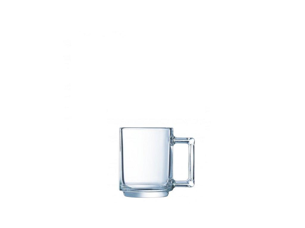 Luminarc skleněný hrnek na espresso La bonne heure 90 ml