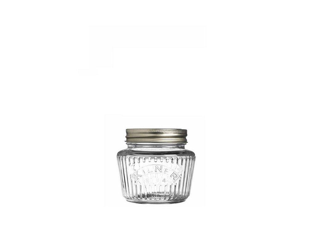 Kilner zavařovací sklenice fasetový design 0,25 l