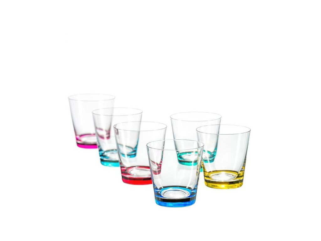 Crystalex barevné sklenice Jive 330 ml