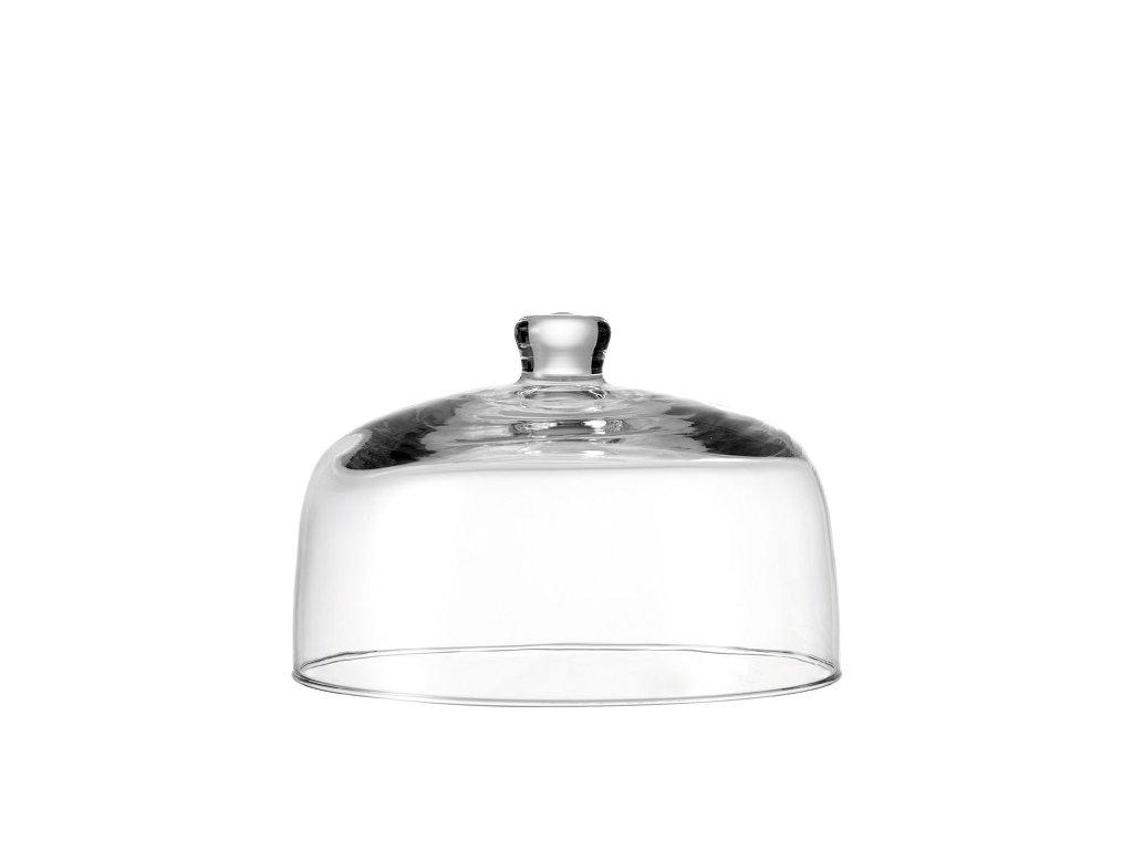 Leonardo skleněný poklop Bell 25 cm