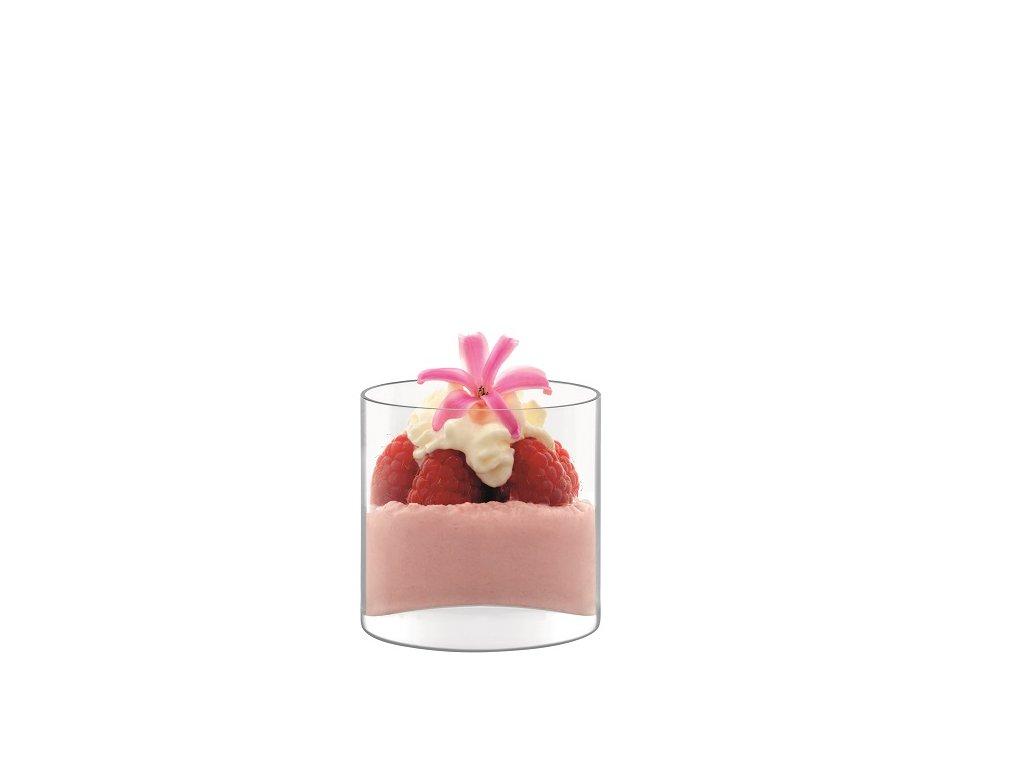 skleničky na dezerty kulaté Luigi Bormioli 130 ml