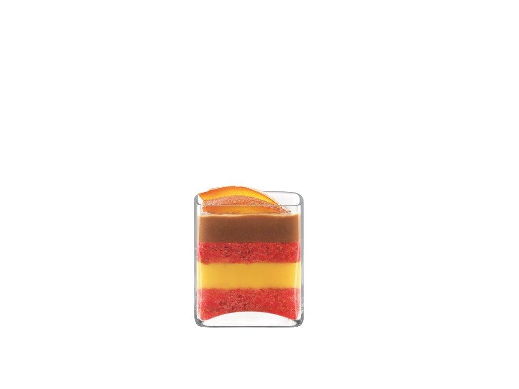 skleničky na dezerty čtvercové Luigi Bormioli Michelangelo Amuse Bouche 130 ml