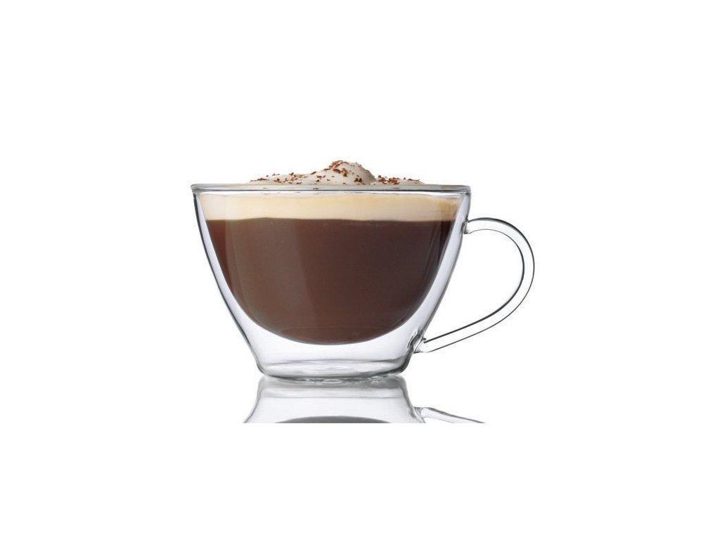 Luigi Bormioli Dvoustěnný hrnek DUOS Multipurpose Mug 385 ml