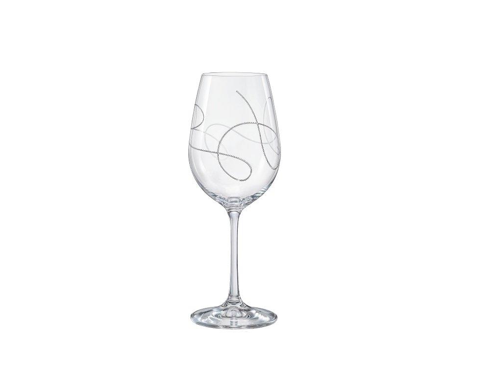Sklenice na víno String 350 ml Crystalex