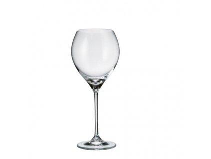 Crystalite Bohemia Sklenice na červené víno CECILIA 470 ml