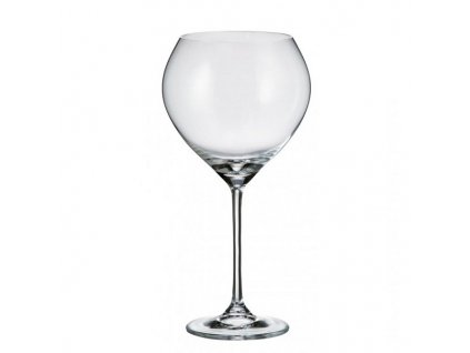 Crystalite Bohemia Sklenice na červené víno CECILIA 640 ml