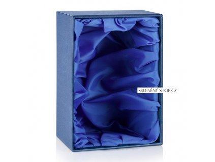 Dárková krabička na půllitr Styria s modrým saténem