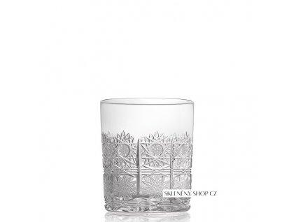 Aurum Crystal Broušená sklenice na whisky 320 ml
